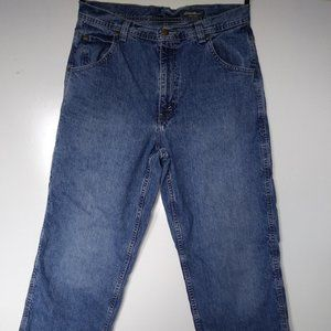 Eddie Bauer Field tested Mens jeans tool pocket